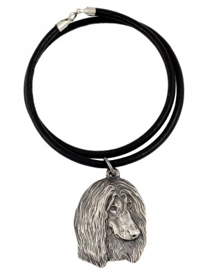 Afghan Hound - necklace (strap) - 761