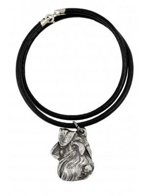 Schnauzer - necklace (strap) - 1117