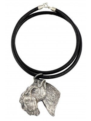 Kerry Blue Terrier - necklace (strap) - 2703