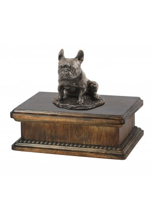French Bulldog sitting- exlusive urn