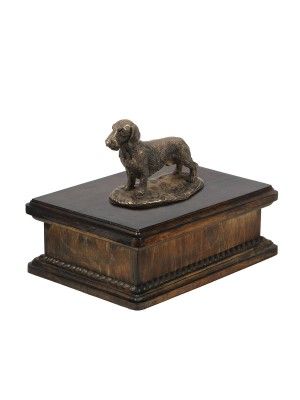 Dachshund wirehaired - exlusive urn