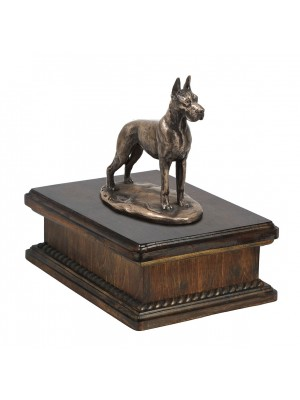 Great Dane cropped- exlusive urn