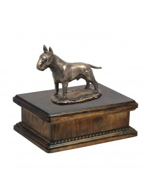 Bull Terrier - exlusive urn
