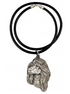 Afghan Hound - necklace (strap) - 365