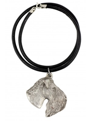 Kerry Blue Terrier - necklace (strap) - 392