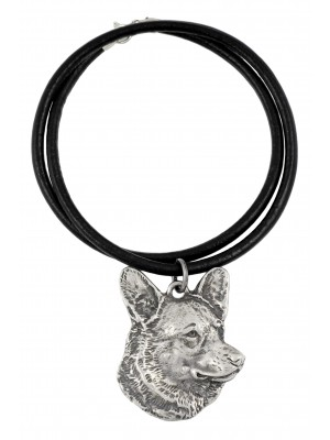 Welsh Corgi Cardigan - necklace (strap) - 418