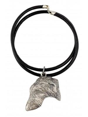 Scottish Deerhound - necklace (strap) - 428