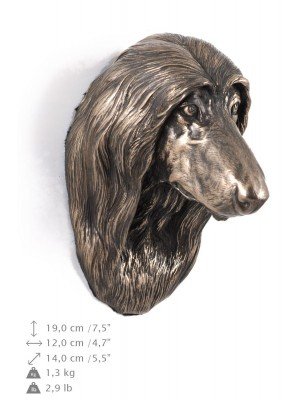 Afghan Hound - figurine (bronze) - 344 - 9682