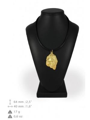 Afghan Hound - necklace (gold plating) - 947 - 31275