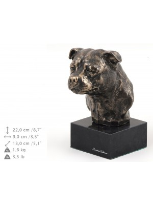 American Staffordshire Terrier - figurine (bronze) - 214 - 9140