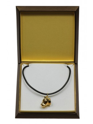 American Staffordshire Terrier - necklace (gold plating) - 3029 - 31665