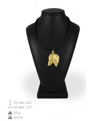 Azawakh - necklace (gold plating) - 974 - 31311