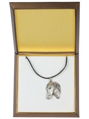 Azawakh - necklace (silver plate) - 2969 - 31112