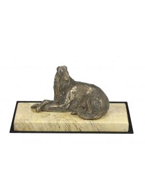 Barzoï Russian Wolfhound - figurine (bronze) - 4638 - 41617