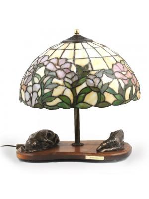 Barzoï Russian Wolfhound - lamp (bronze) - 681 - 3213