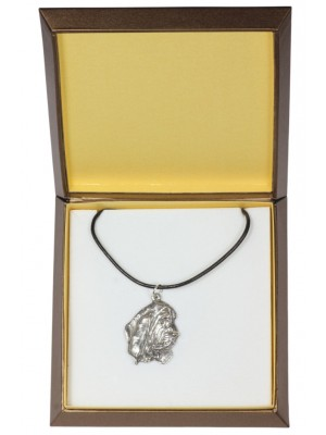Basset Hound - necklace (silver plate) - 2992 - 31135