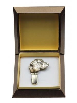 Beagle - clip (silver plate) - 2575 - 28156