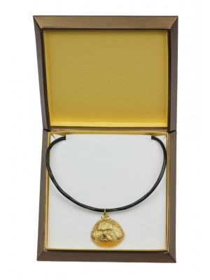 Bichon Frise - necklace (gold plating) - 2526 - 27682