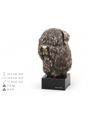 Black Russian Terrier - figurine (bronze) - 177 - 9109
