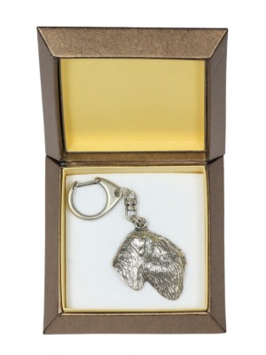 Black Russian Terrier - keyring (silver plate) - 2780 - 29900