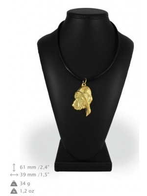 Bloodhound - necklace (gold plating) - 962 - 25460