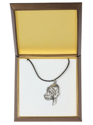 Bloodhound - necklace (silver plate) - 2958 - 31102