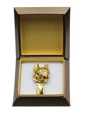 Boston Terrier - clip (gold plating) - 2592 - 28553