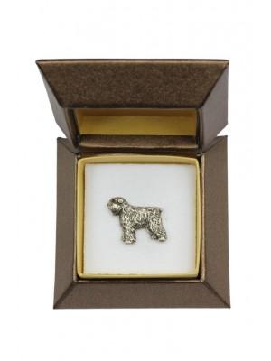 Bouvier des Flandres - pin (silver plate) - 2684 - 28966