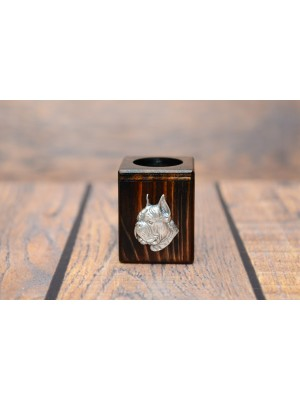 Boxer - candlestick (wood) - 3961 - 37707