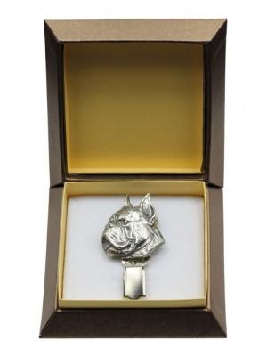 Boxer - clip (silver plate) - 2577 - 28158