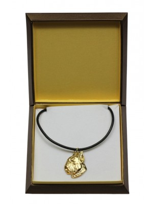 Boxer - necklace (gold plating) - 3052 - 31688