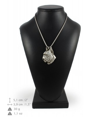 Boxer - necklace (silver chain) - 3334 - 34479