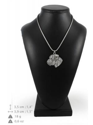 Boxer - necklace (silver cord) - 3175 - 33092