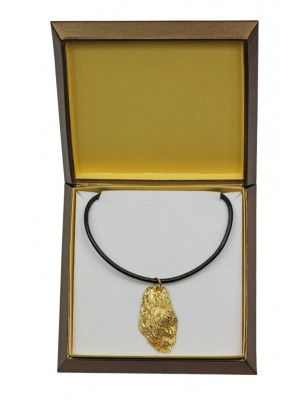 Briard - necklace (gold plating) - 2504 - 27663