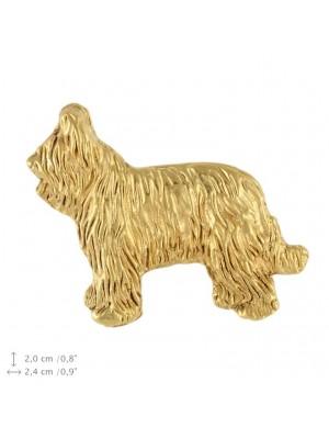 Briard - pin (gold plating) - 2382 - 26130