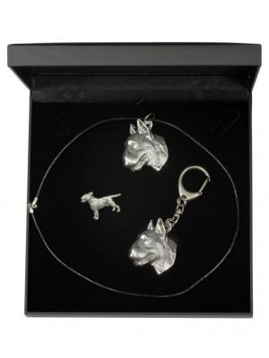 Bull Terrier - keyring (silver plate) - 1921 - 14151
