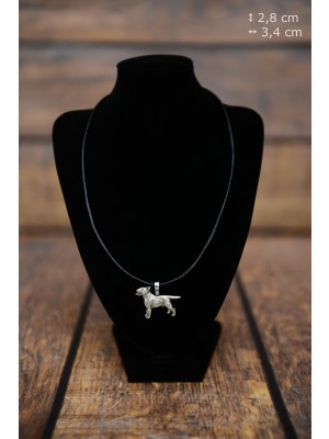 Bull Terrier - necklace (strap) - 3834 - 37169