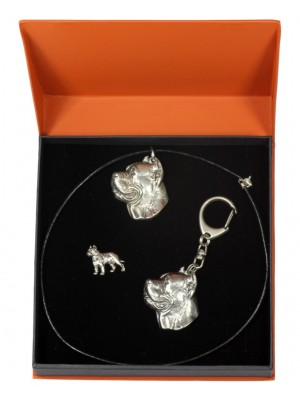 Cane Corso - keyring (silver plate) - 2316 - 24700