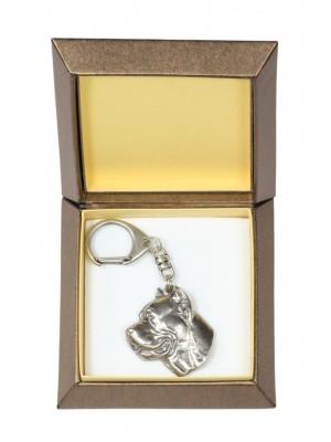 Cane Corso - keyring (silver plate) - 2714 - 29833