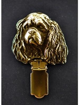 Cavalier King Charles Spaniel - clip (gold plating) - 1024 - 4473