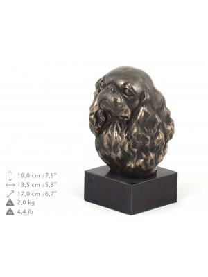 Cavalier King Charles Spaniel - figurine (bronze) - 195 - 9122