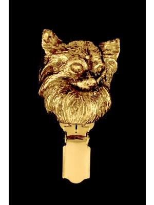 Chihuahua - clip (gold plating) - 1609 - 8518