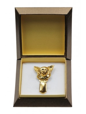 Chihuahua - clip (gold plating) - 2613 - 28574