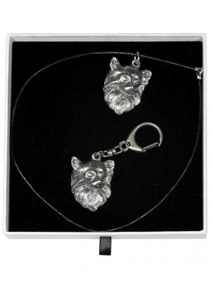 Chihuahua - keyring (silver plate) - 2015 - 16385