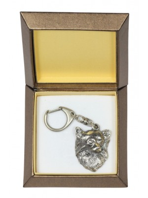 Chihuahua - keyring (silver plate) - 2798 - 29918