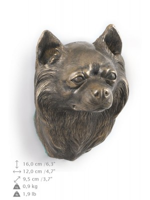 Chihuahua Long Coat - figurine (bronze) - 413 - 9880