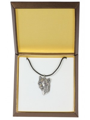Chinese Crested - necklace (silver plate) - 2934 - 31078