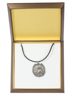 Chow Chow - necklace (silver plate) - 2908 - 31052