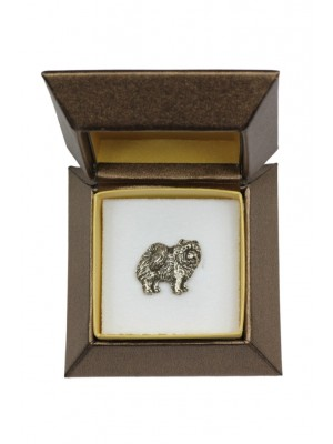 Chow Chow - pin (silver plate) - 2681 - 28963