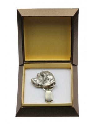 Dachshund - clip (silver plate) - 2538 - 28119